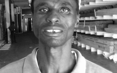 Themba Ngwenya (Gründer,  Thina Glass Trading Enterprise, Südafrika)